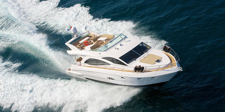 56ft Luxury Yacht Rental in Dubai: AED 1,800 PER HOUR (Incl VAT)