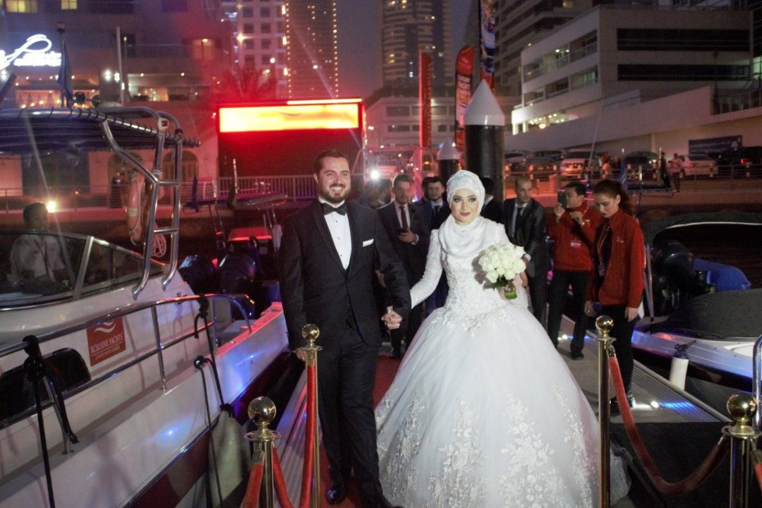 Yacht Wedding Dubai