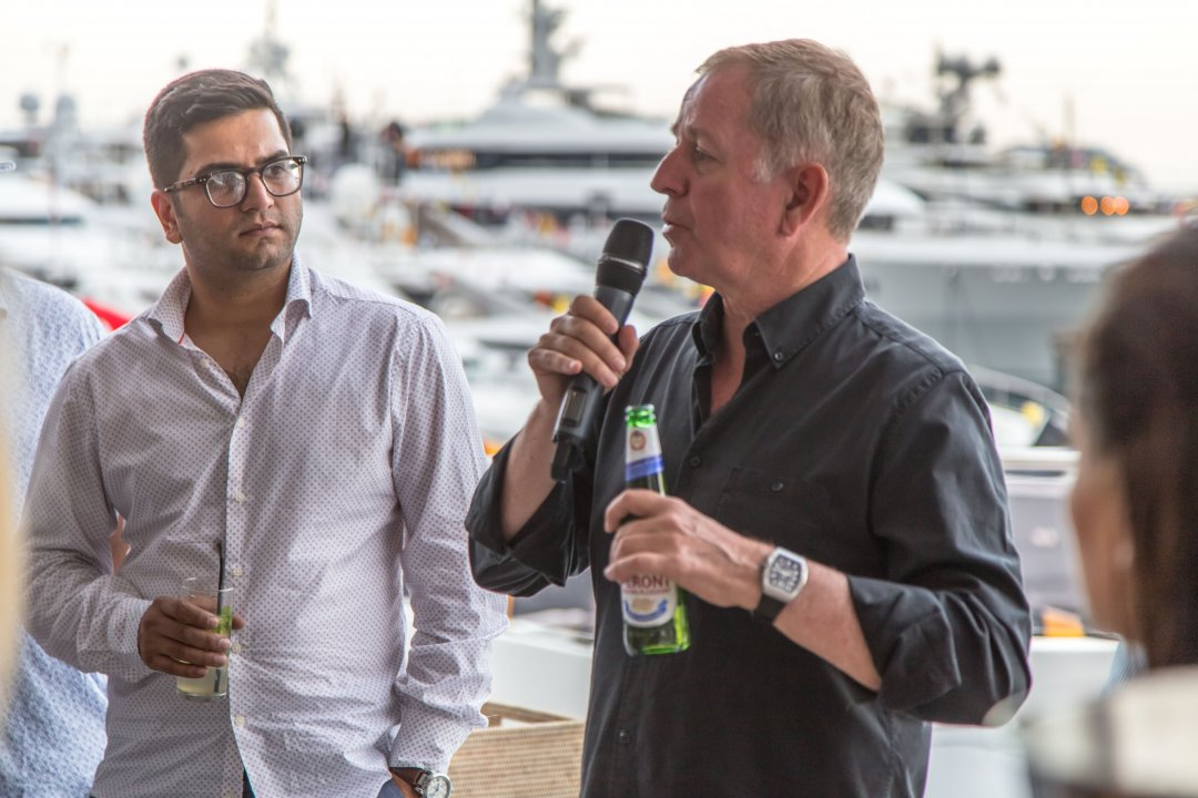Xclusive Yachts hosted a two day hospitality event on board luxury yacht 'ARADOS' at the F1 Monaco GP.