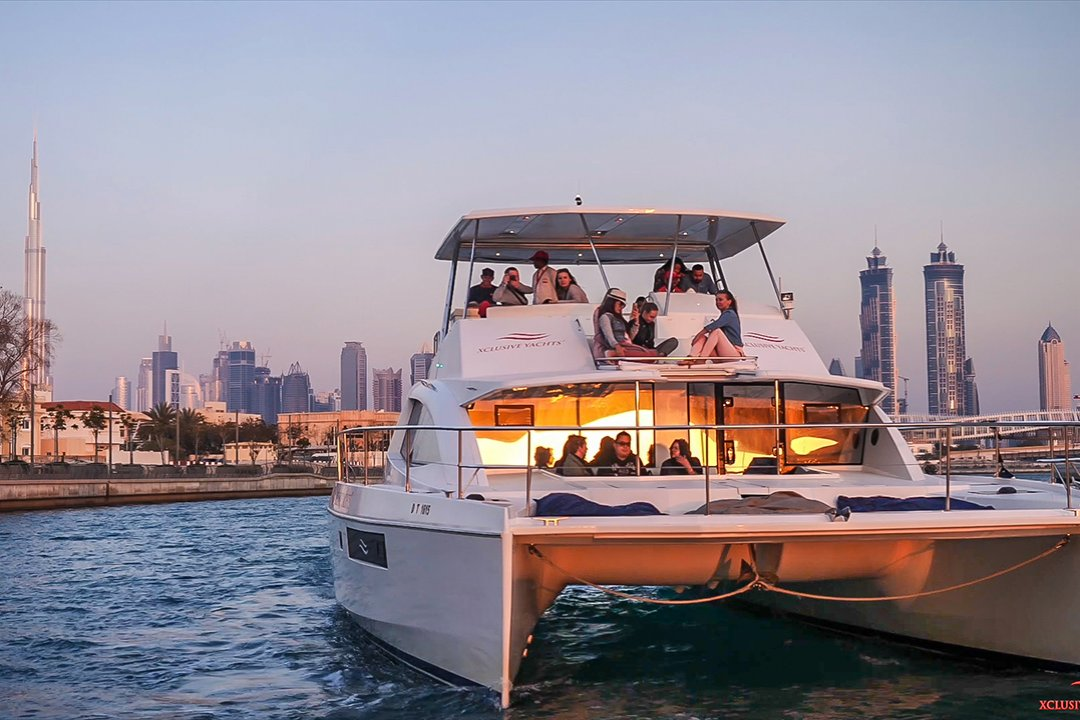 Dubai's Newest and Cheapest Canal Yacht Tour - Marasi Marina Route