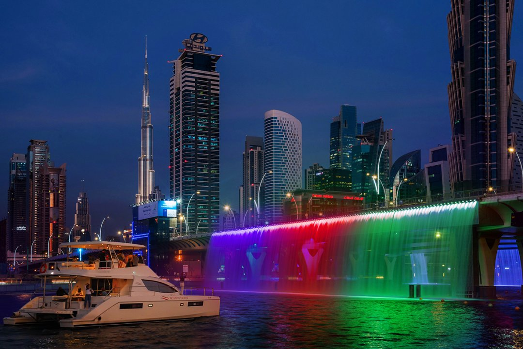 The Newest Yacht Sharing Tour in Dubai Canal