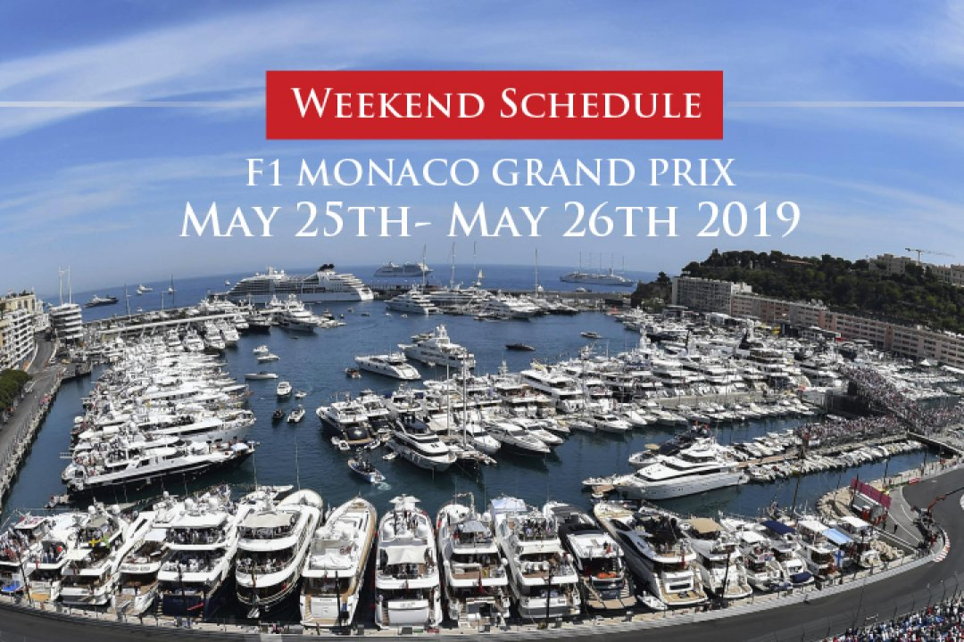 Xclusive Yachts hosting F1 Monaco Hospitality Yacht Event 2019 onboard their 155ft Super Yacht. Early bookings open to public for the Formula One Grand Prix.