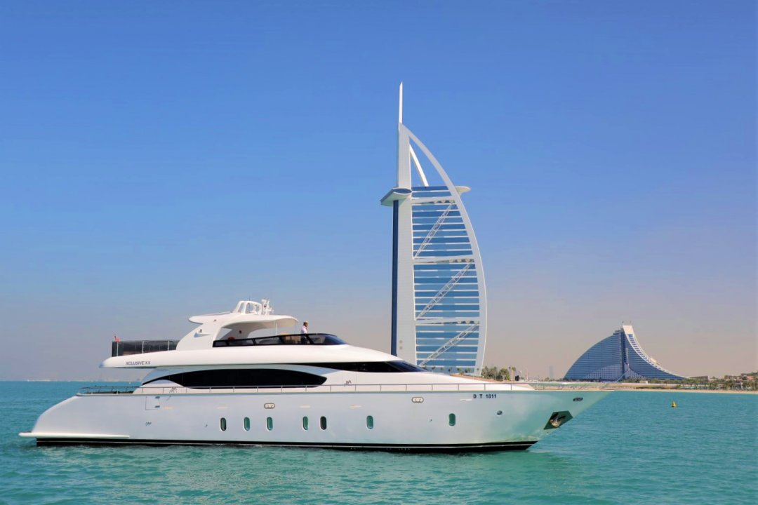 Xclusive 20: 96 Ft  Yachts  - NOW  3000 AED from  4700AED