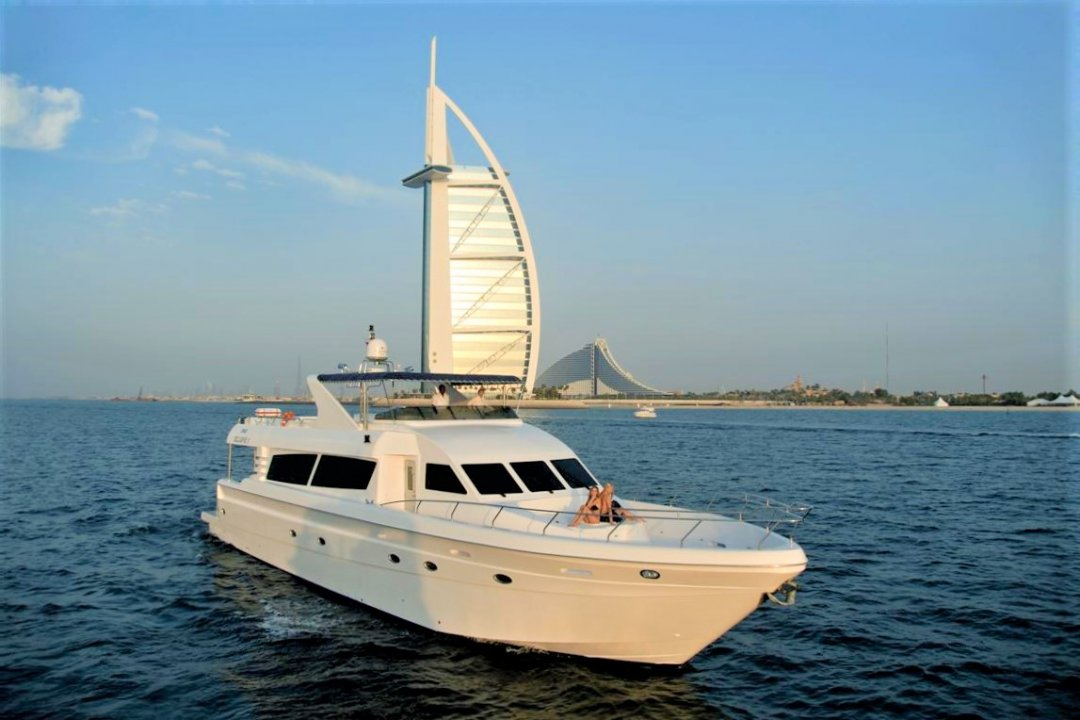Xclusive 2:  86Ft Yacht - NOW 2400 AED from 3200 AED