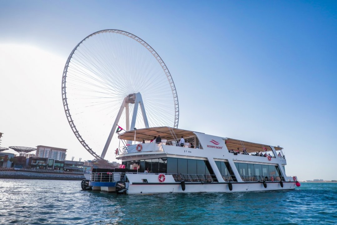 PRIVATE SUNSET CRUISE - DUBAI EYE VIEW