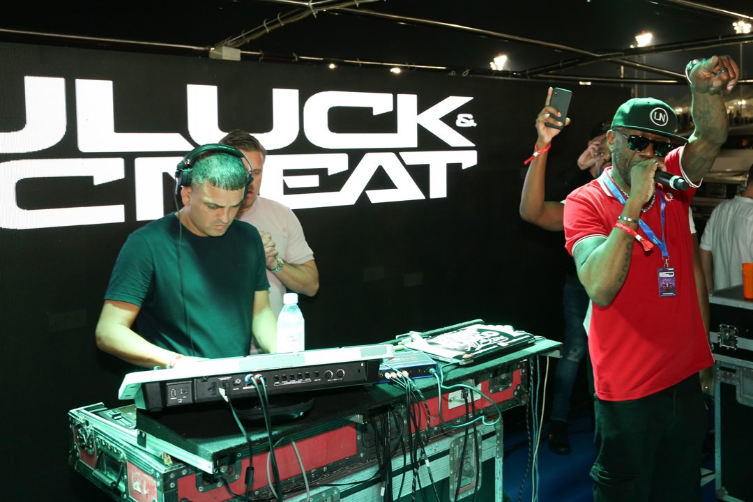 DJ Luck and McNeat - Abu Dhabi Grand Prix 2019 - Xclusive Yachts After-race Party