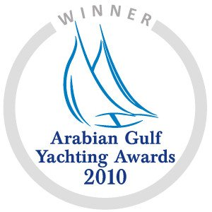 Winner Best Charter Company Middle East - Arabian Gulf Yachting Awards 2010