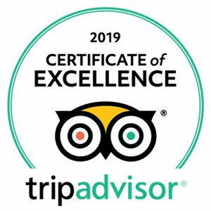 TripAdwisor - 2019 Certificate of Excellence