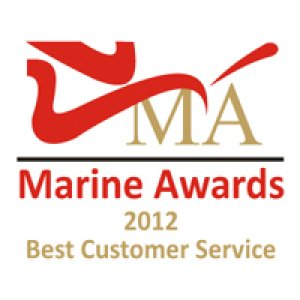 Winner Best Customer Service - Marine Awards 2012