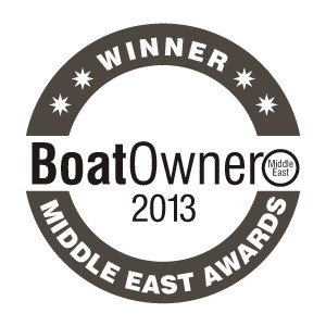 Winner Charter Company of the Year UAE - Boat Owner Awards 2013
