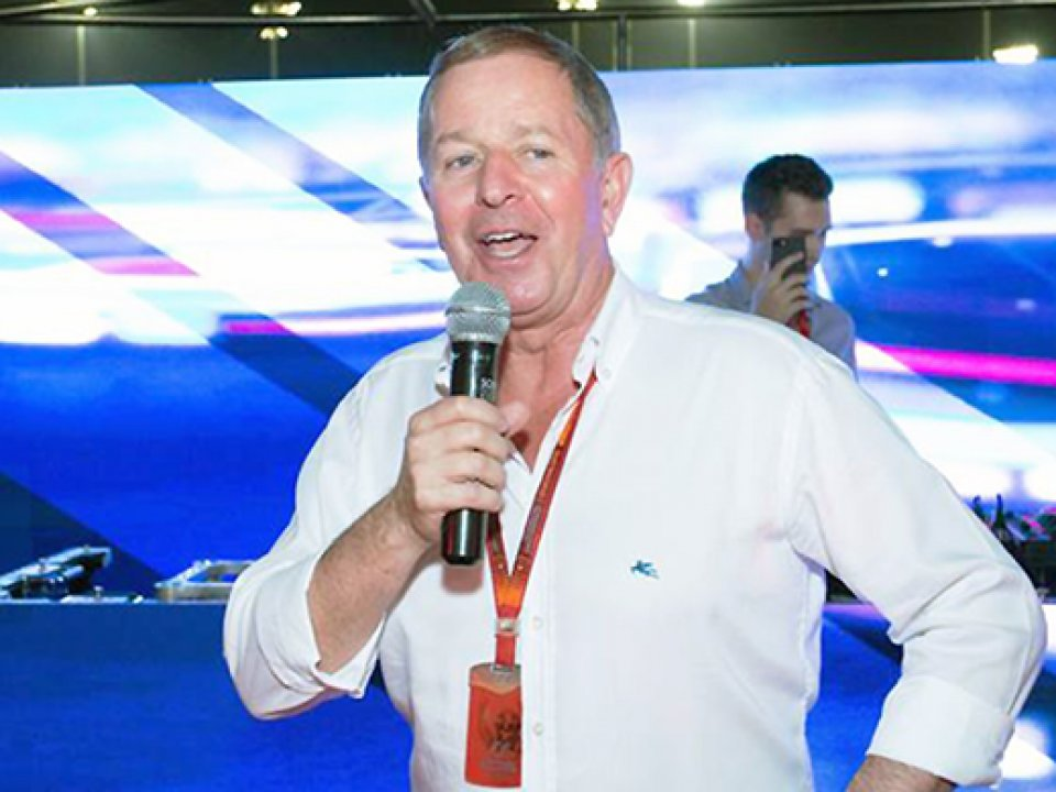 Martin Brundle - Former F1 Racing Driver