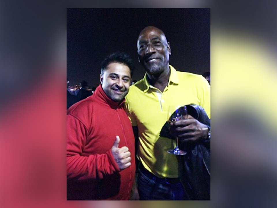 Sir Viv Richards - Former West Indies Cricketer