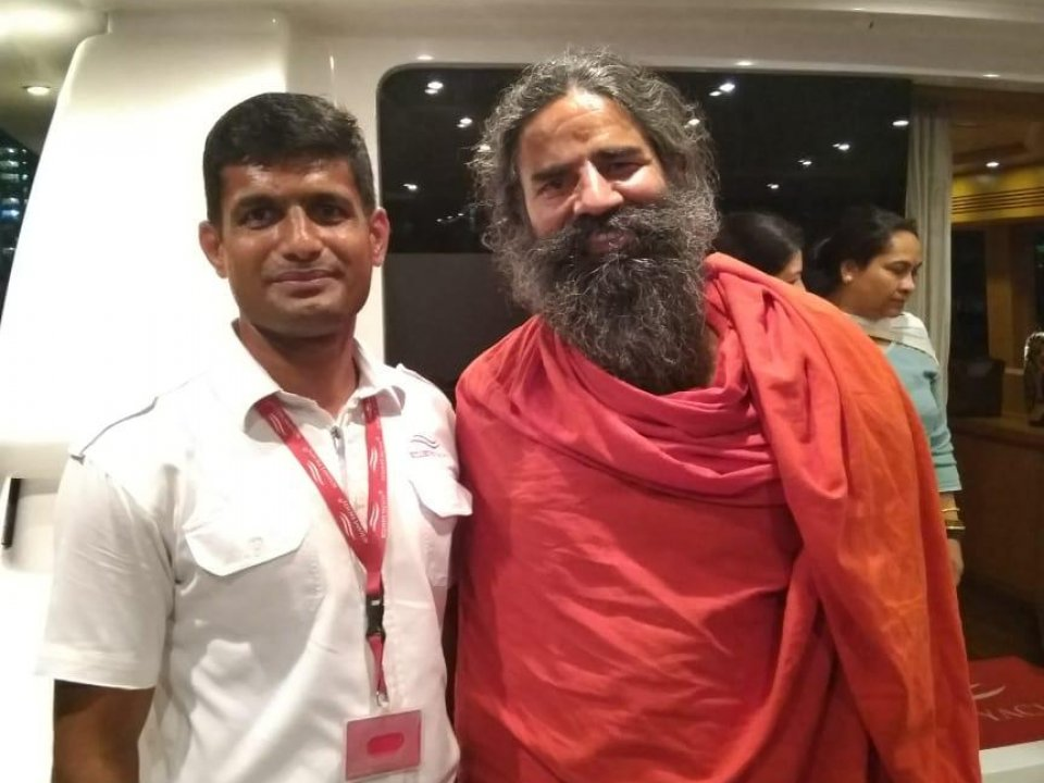 Baba Ramdev - Indian yoga guru