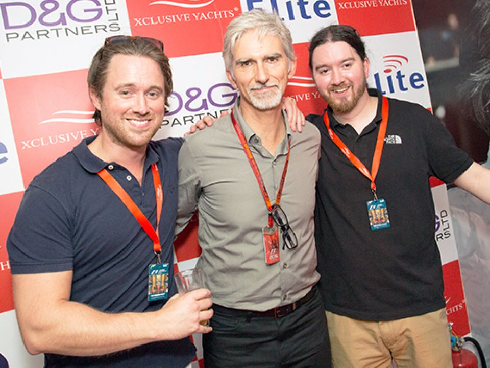 Damon Hill - Former British Racing Driver